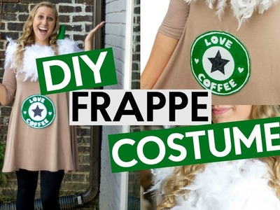 DIY FRAPPE COSTUME | EASY HALLOWEEN COSTUME