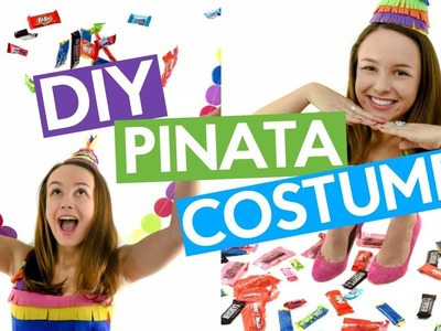 DIY PINATA COSTUME | DIY HALLOWEEN COSTUME