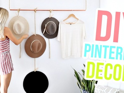 DIY Pinterest Room Decor Ideas! | Aspyn Ovard