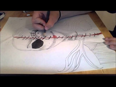 Drawing Jack and Sally
