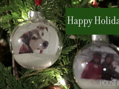 Easy Holiday DIY: Personalized Ornaments