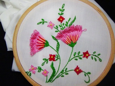 Hand Embroidery: Loop stitch