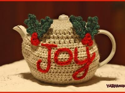 How to Crochet The Joyful Teapot Cozy