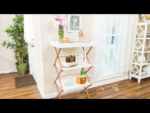 How To - DIY Laundry Rack Makeover - Hallmark Channel