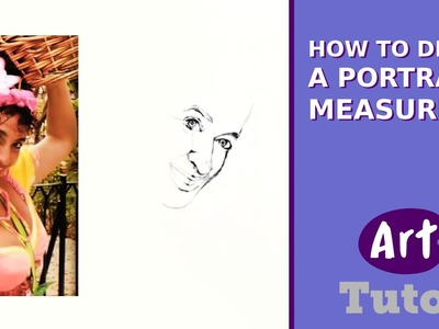 How to Draw a Portrait: Measuring