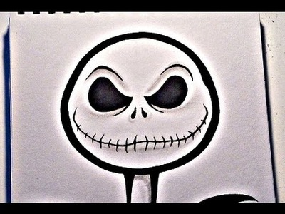 How To Draw JACK SKELLINGTON - Nightmare Before Christmas