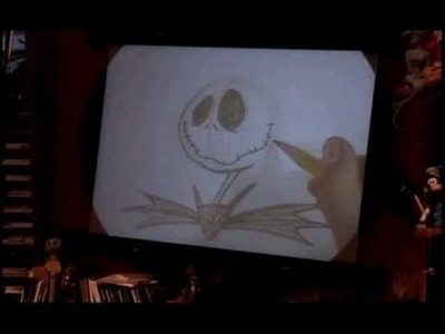 How To Draw Jack Skellington - DCA Animation Academy