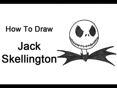 How to Draw Jack Skellington