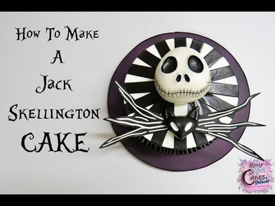 How To Make A Jack Skellington Cake: The Krazy Kool Cakes Way!