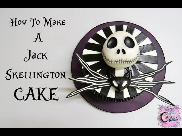 How To Make A Jack Skellington Cake: The Krazy Kool Cakes Way!
