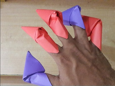 How To Make Amazing Paper Claws - Cool Creative paper craft