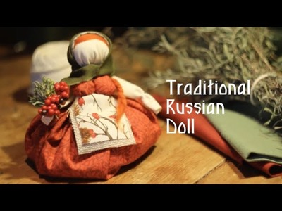 How to make Russian traditional doll. Славянская кукла-оберег