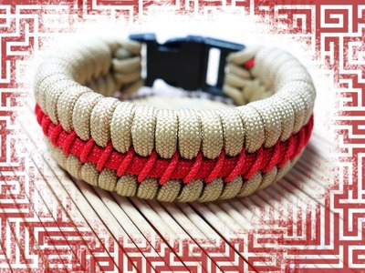 How to Make the Maze Fishtail Paracord Bracelet Tutorial