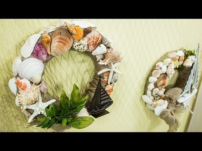 How To – Orly Shani's DIY Nautical Seashell Wreath – Hallmark Channel
