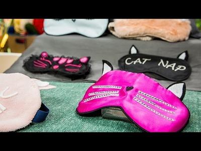 How To – Paige Hemmis' DIY Kitty Sleep Masks – Hallmark Channel