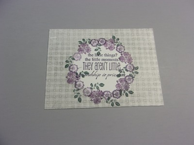 Let's Make Postcards with Peg Stamps and some Masking!