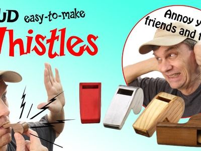 Make a really loud referee or police whistle   2013 New Years Noisemaker