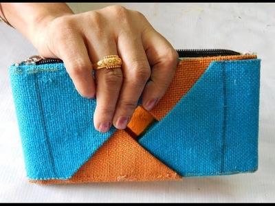 Make your own jute purse making (No stitch)  part- 1