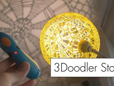 Making Art with the 3Doodler Start. 3D pen review