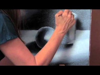 Oil Painting Basics- Video 6- Creating a Form Using Contrast (Cylinder)