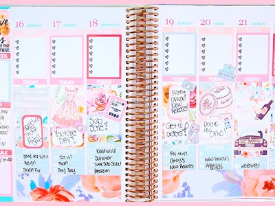 Plan with Me!. Glam Planning 101