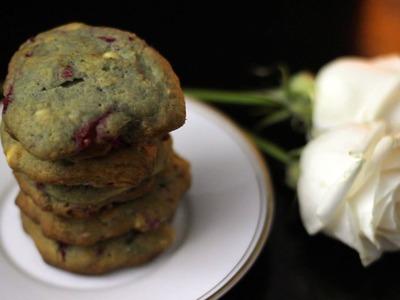 Raspberry Cheesecake Cookies   Valentine's Day Menu