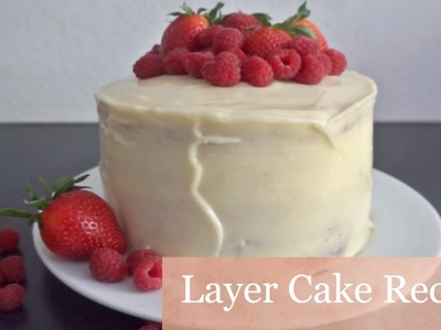 Recipe: Layer Cake, Rainbow Cake, Birthday Cake, Summer Cake I Ms. Malvina