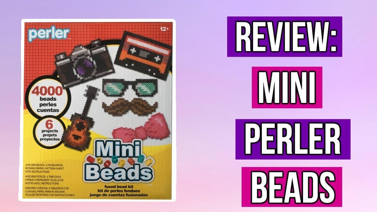 Reveiw: Mini Perler Beads