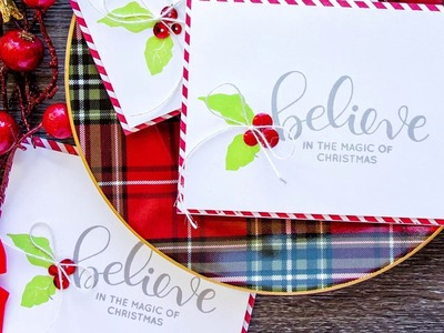 Simple Stamped Christmas Cards