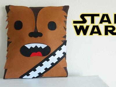 Star Wars Craft - CHEWBACCA PILLOW!! - Mery