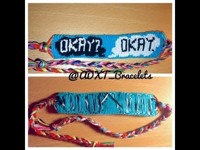 The Fault In Our Stars Friendship Bracelet-Beginning to End