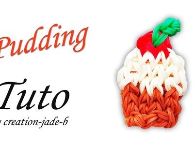 Tuto Rainbow Loom - Gâteau de Noël. Christmas Pudding !