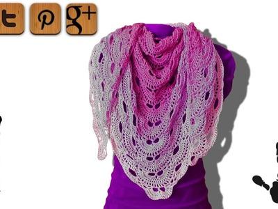 Virus shawl crochet tutorial part 1 - Woolpedia®