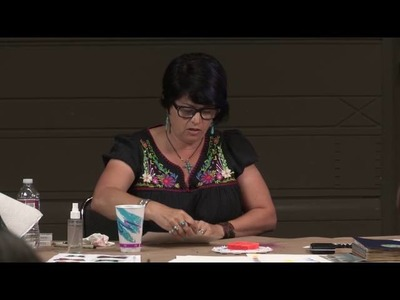 Watercolor Basics at Art Journaling Live 3 with Gina Rossi Armfield PREVIEW