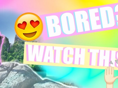 5 Things To Do This Summer (WHEN YOU'RE BORED) + DIY ROOM DECOR | anaclare