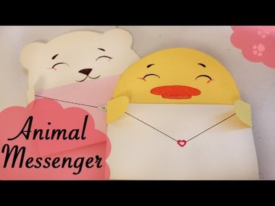 Animal Messenger card - Quick and easy DIY
