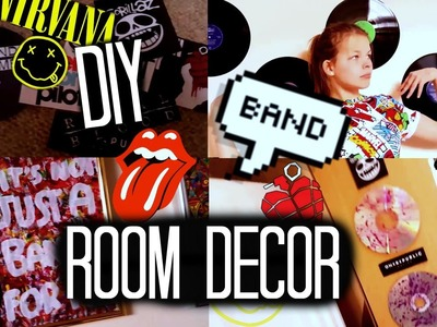 DIY BAND Room Decor - Cheap & Easy