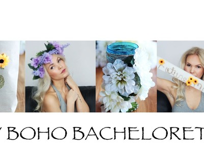 DIY Boho Bachelorette Party Ideas | Sarrah Dolly