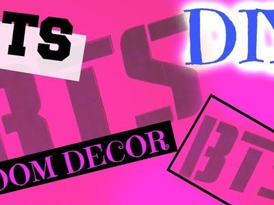 DIY - BTS. KPOP Room Decor | KpopStyled