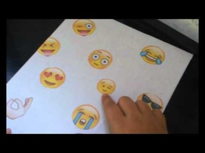 DIY caderno do emoji #VEDA  2