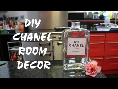 Diy Chanel no.5 Perfume Bottle room decor   Re-use or loose #1