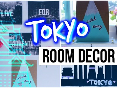 DIY City Inspired Room Decor {TOKYO}