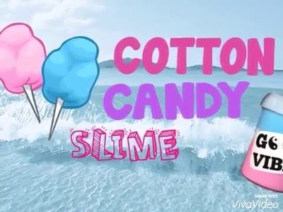 DIY COTTON CANDY SLIME [indonesia]