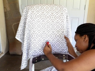 DIY for Beginners! Chair refurbish| Naturally K