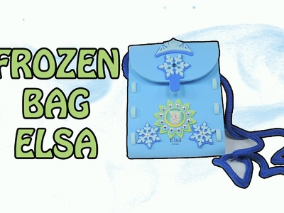 DIY How to Made Frozen Elsa Bag by MamaSurpriseCollections