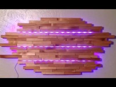 DIY LED Wall Lamp Ideas