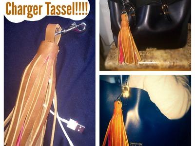 DIY Phone Tassel Charger
