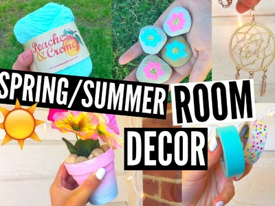 DIY Spring.Summer Room Decor + Organization! Easy & Affordable.EliseLife
