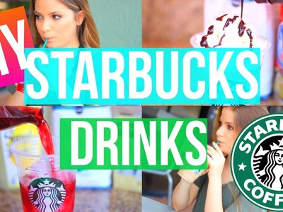 DIY STARBUCKS DRINKS FOR SUMMER | GIANNA CHRISTINE