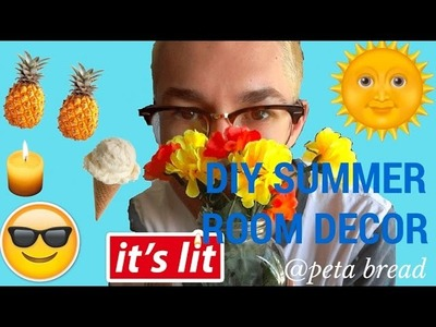 DIY summer room decor | collab | cheap and affordable pinterest inspired ideas
